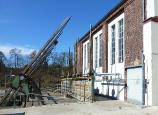 Turbinenhaus der Papierfabrik Golzern. Foto: panoramio.com