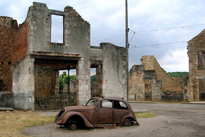 Oradour-sur-Glane. Foto: Wikimedia Commons/TwoWings/CC BY-SA 3.0