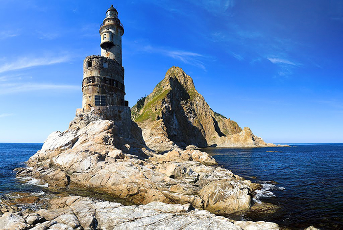 Aniva Lighthouse auf der Insel Sakhalin in Russland. Foto: panoramio/DmitrySerbin