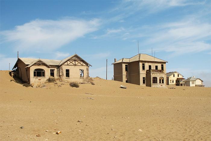 Kolmanskop Namibia. Foto: Wikimedia Commons/Bgabel/CC BY-SA 3.0