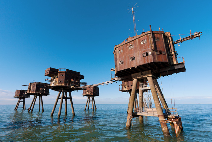 Red Sands Sea Forts. Foto: Wikimedia Commons/Russss/CC BY-SA 3.0