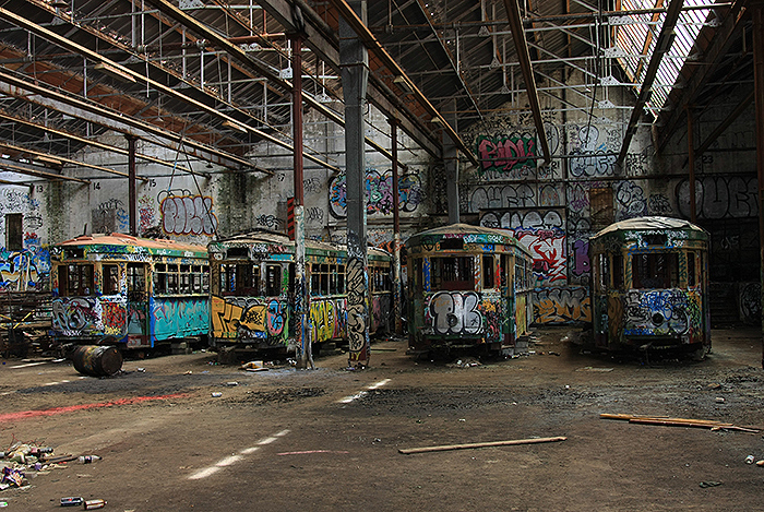 Das Rozelle Tram-Depot in Glebe, New South Wales. Foto: Wikimedia Commons/Adam.J.W.C./CC BY-SA 2.5