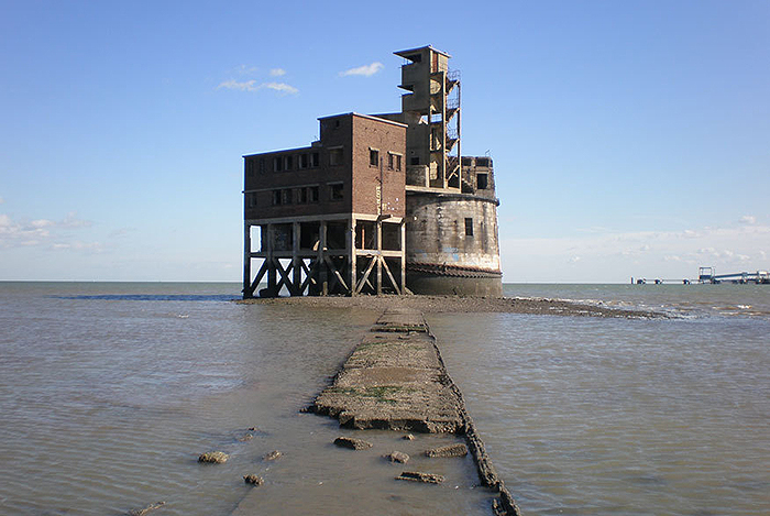 Grain Tower Battery in der Mündung der Themse. Foto: riverhomes