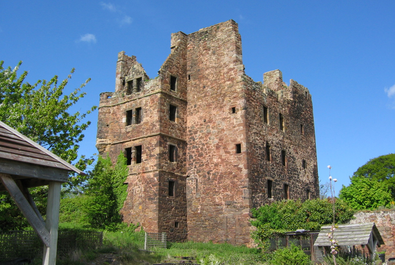 Redhouse Castle, Schottland