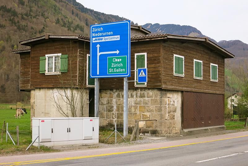 Sperrstelle Näfels GL, Schweiz. Foto: Paebi/CC BY-SA 4.0