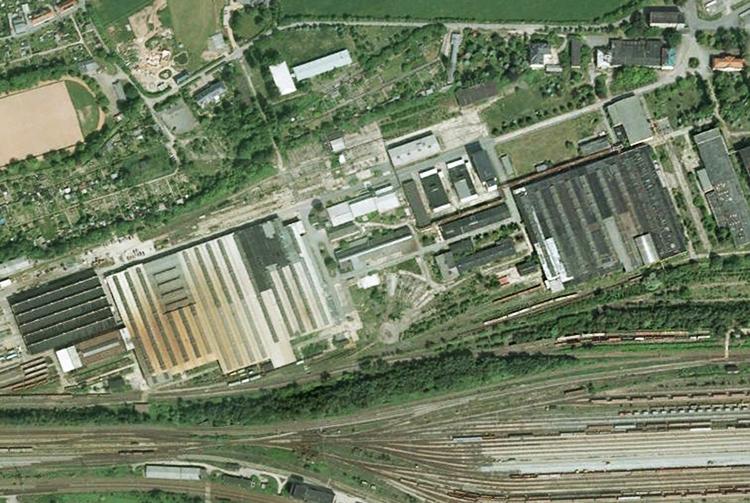 Gelände des ehemaligen Raw-Zwickau. Foto: Screenshot/GoogleMaps