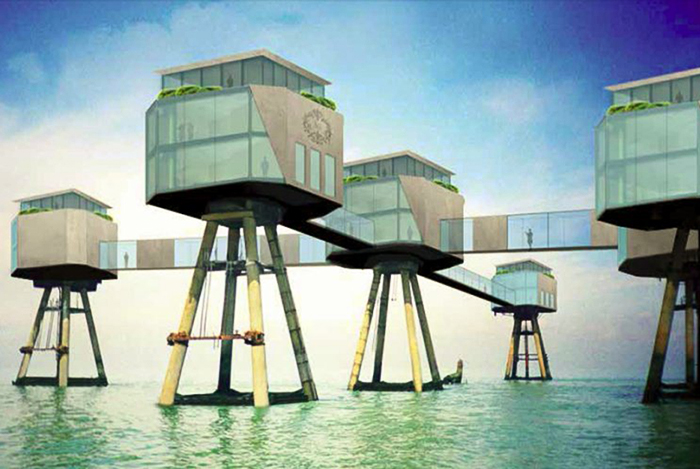 Noch eine Vision aus dem Exposé. Foto: Operation Red Sands Forts