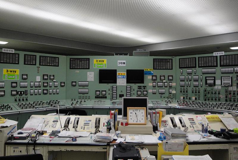 Kontrollraum für Reaktorgebäude 3 in 2011. Foto: TEPCO