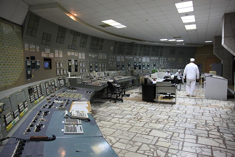 Kontrollraum in Block III. Foto: IAEA Imagebank/CC BY-SA 2.0