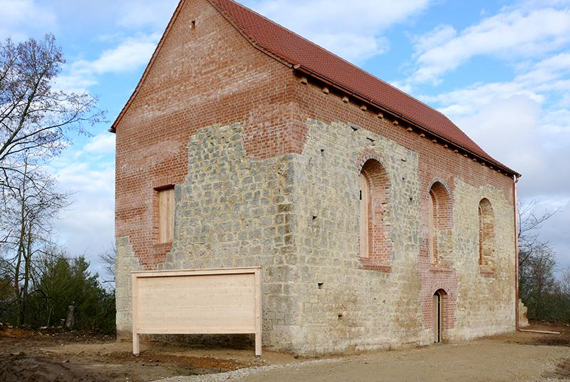 Wiederhergestellte Kirche. Foto: BImA