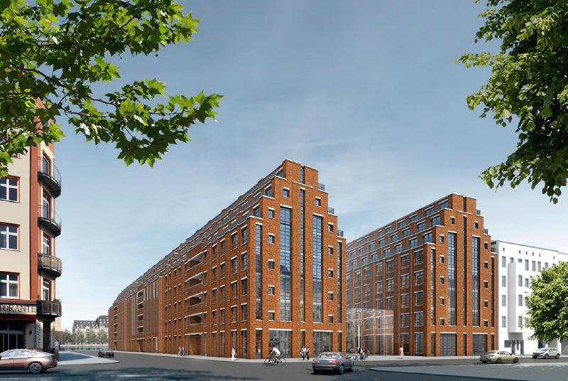 "Zukünftiger ""Cuvry-Campus"". Foto: Angermann Real Estate Advisory AG"