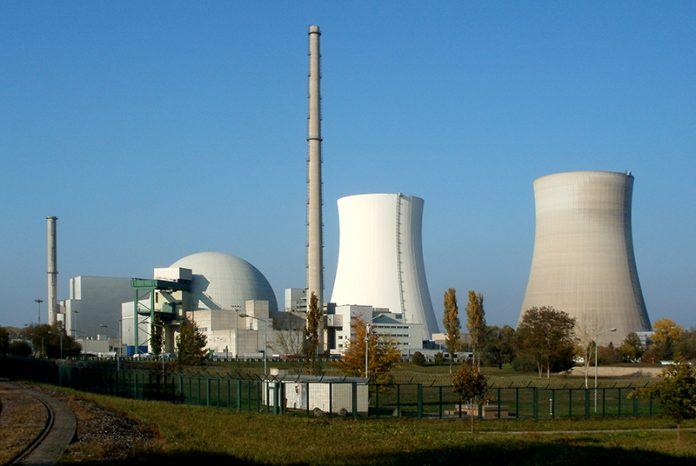 Philippsburg Kernkraftwerk Sprengung