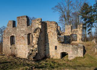 Ruine verfallenes bauwerk