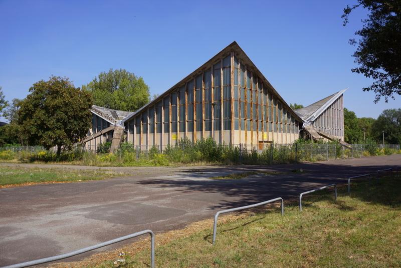 Hyparschale in Magdeburg. Foto: André Winternitz
